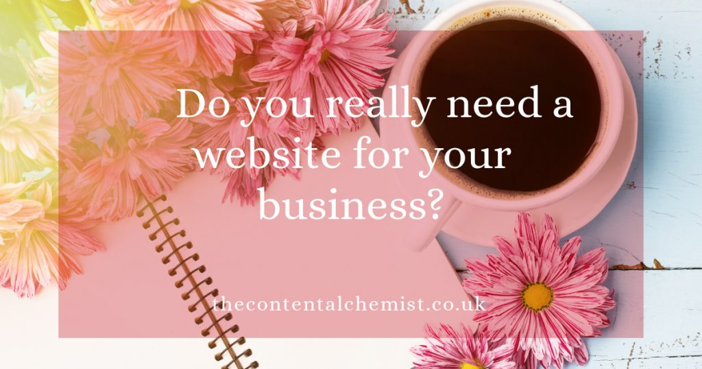 Blog post: Do you really need a website for your business?